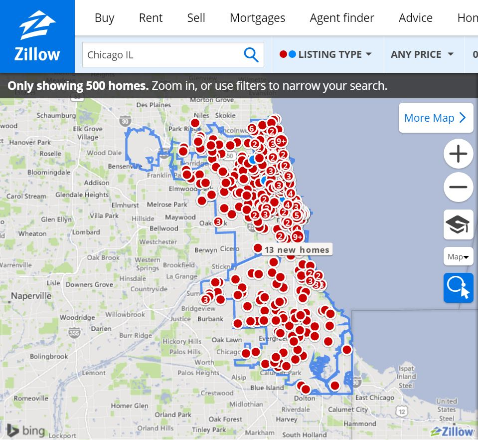 How To Get Free Pre-Foreclosure Leads on Zillow | Lex Levinrad Real Zillow Map on