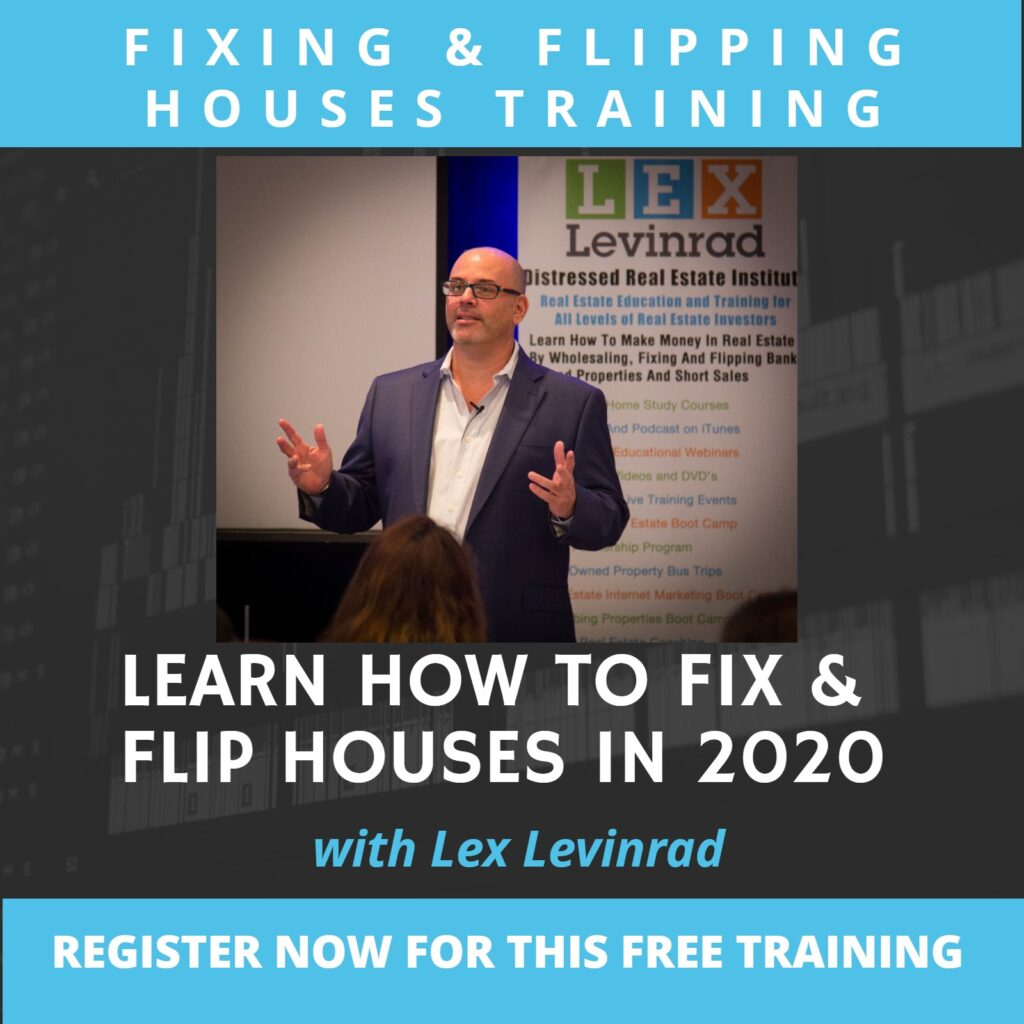 Fixing and Flipping Houses Training