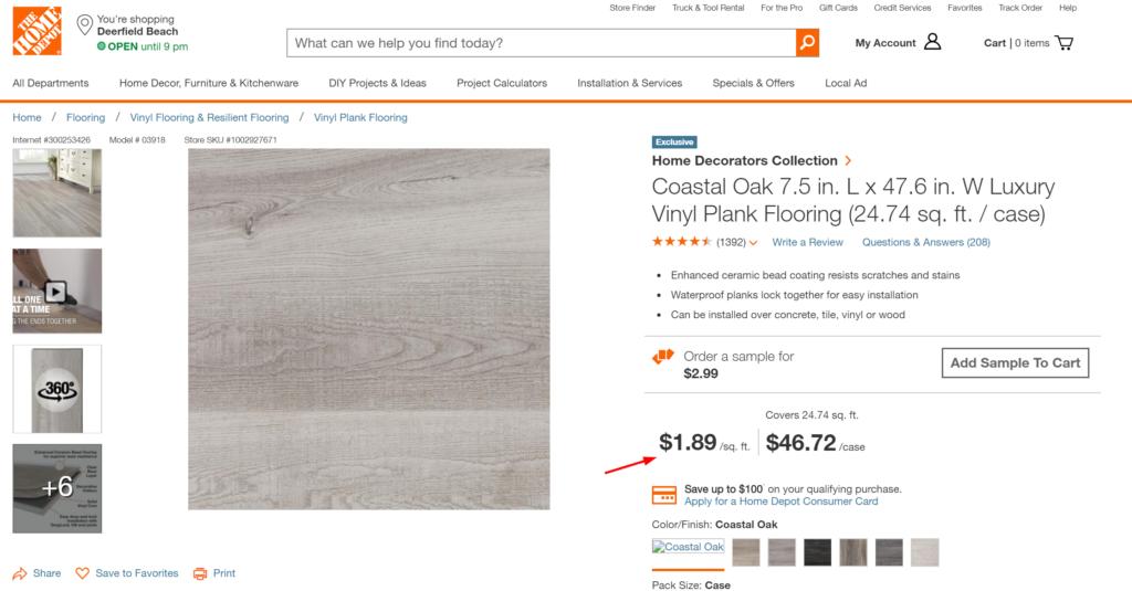 Coastal Oak Grey Laminate Flooring