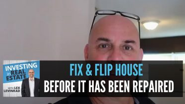 Fix and Flip House Before Repairs