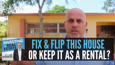 Fix and Flip Or Keep As Rental