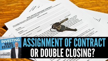 Assignment of Contract or Double Closing